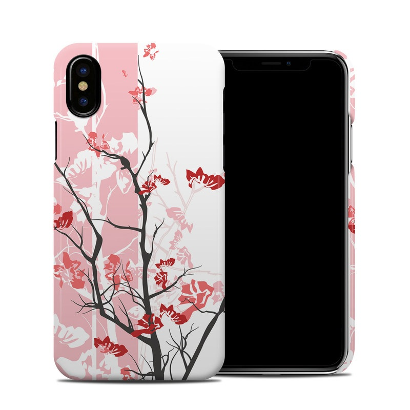 Pink Tranquility iPhone XS Clip Case