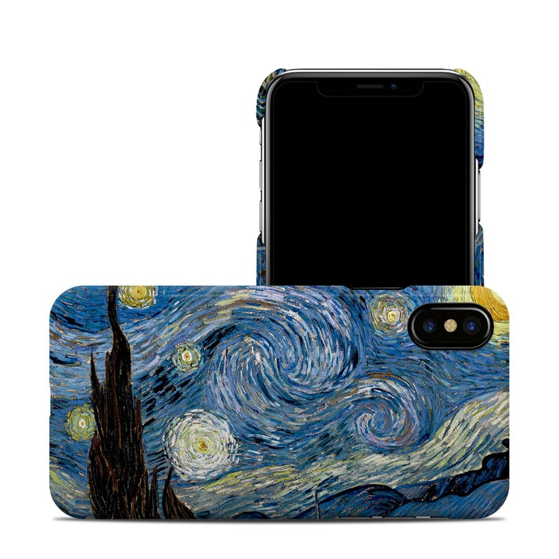 Starry Night iPhone X Clip Case