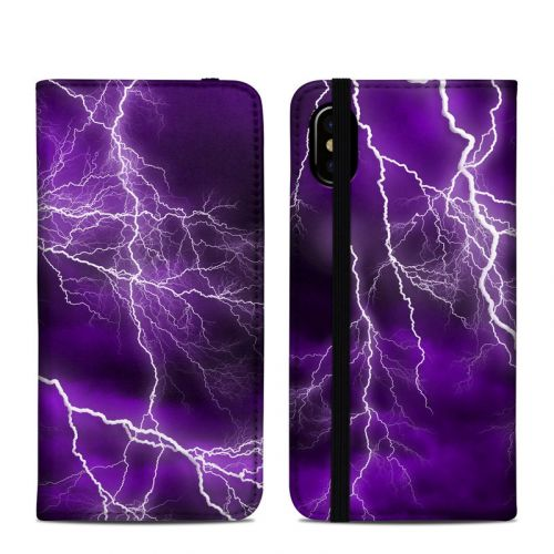 Apocalypse Violet iPhone XS Folio Case