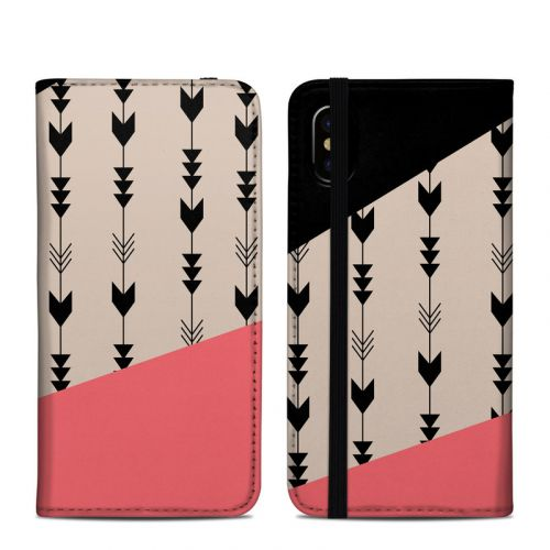 Arrows iPhone X Folio Case