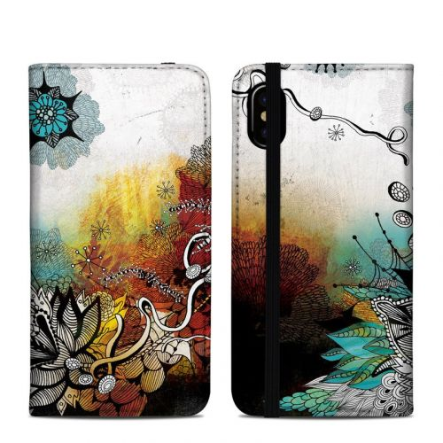 Frozen Dreams iPhone XS Folio Case