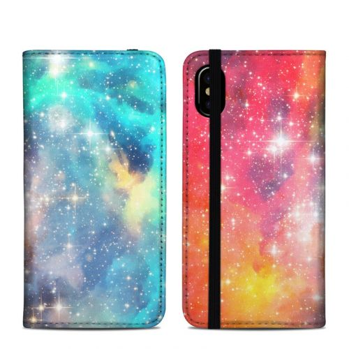 Galactic iPhone X Folio Case