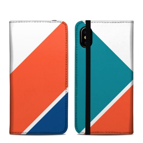 Kathy iPhone X Folio Case