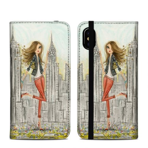 The Sights New York iPhone XS Folio Case