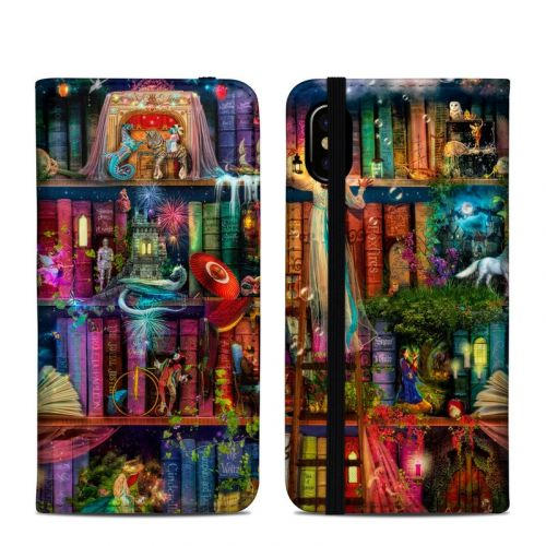 Treasure Hunt iPhone XS Folio Case