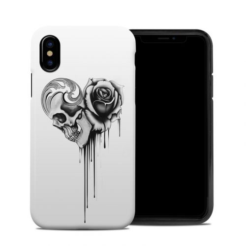 Amour Noir iPhone XS Hybrid Case
