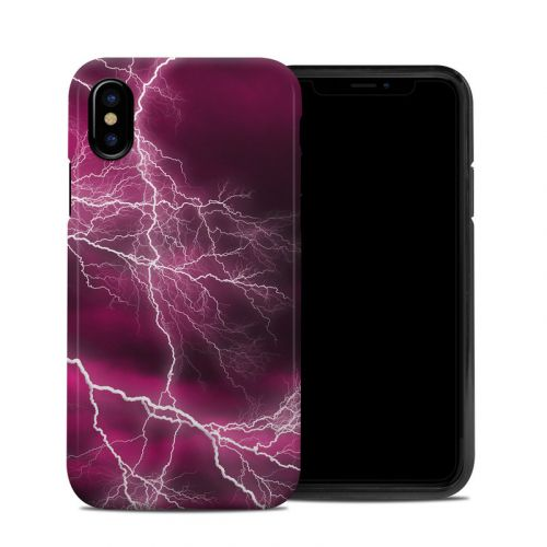Apocalypse Pink iPhone X Hybrid Case