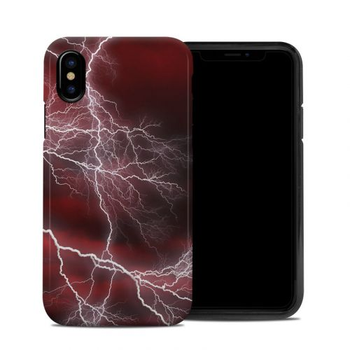 Apocalypse Red iPhone X Hybrid Case