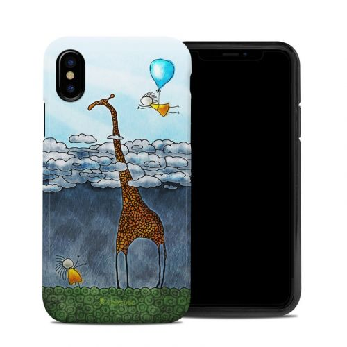 Above The Clouds iPhone X Hybrid Case