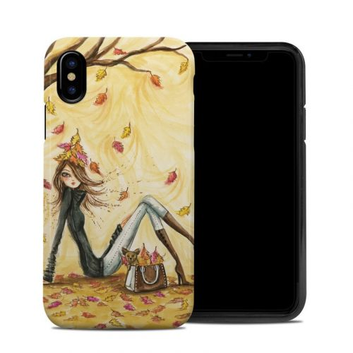 Autumn Leaves iPhone X Hybrid Case