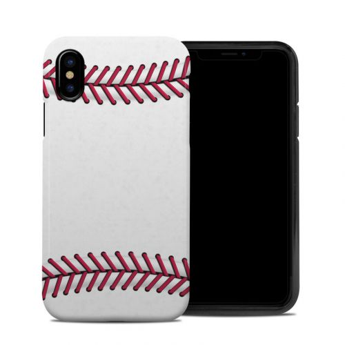 Baseball iPhone XS Hybrid Case