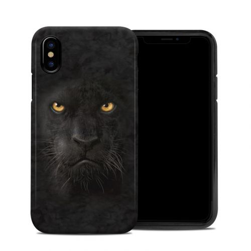Black Panther iPhone XS Hybrid Case