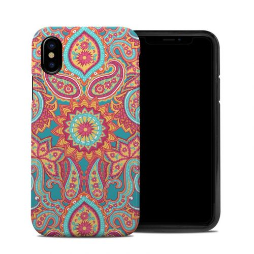 Carnival Paisley iPhone XS Hybrid Case