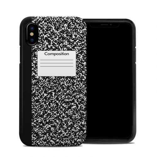 Composition Notebook iPhone XS Hybrid Case