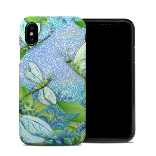 Dragonfly Fantasy iPhone X Hybrid Case
