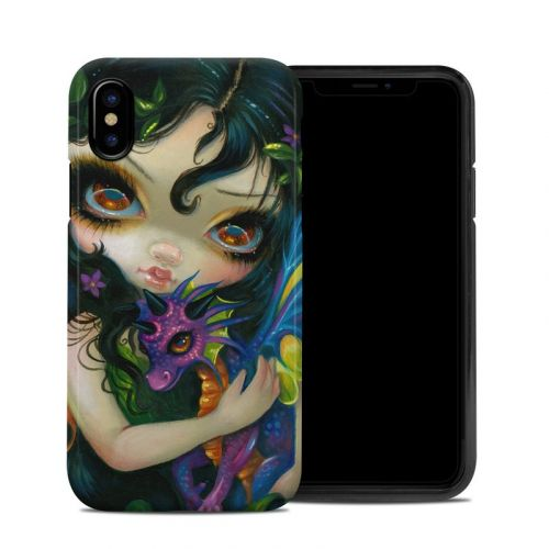 Dragonling Child iPhone XS Hybrid Case
