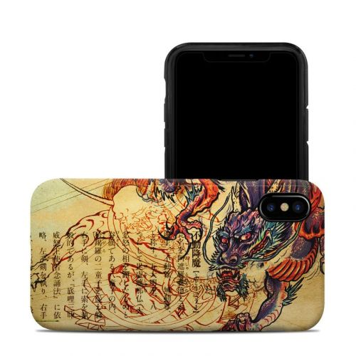 Dragon Legend iPhone X Hybrid Case