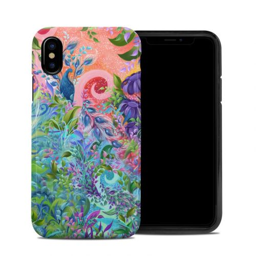 Fantasy Garden iPhone XS Hybrid Case