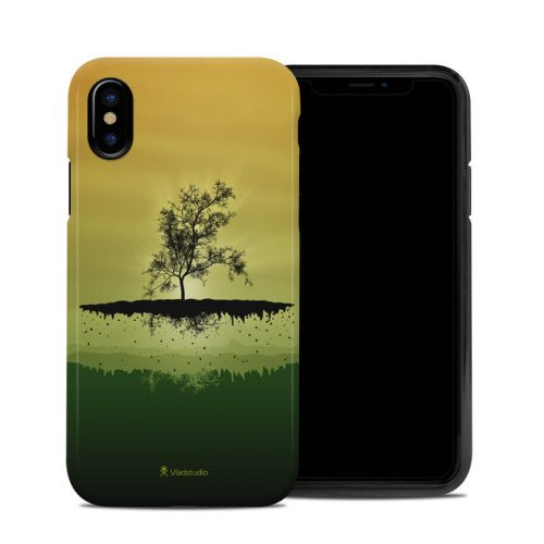Flying Tree Amber iPhone X Hybrid Case