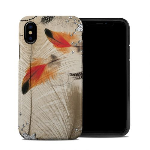 Feather Dance iPhone X Hybrid Case