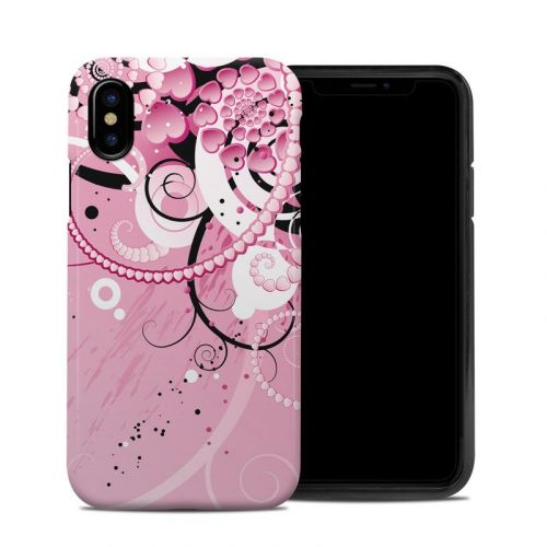 Her Abstraction iPhone XS Hybrid Case