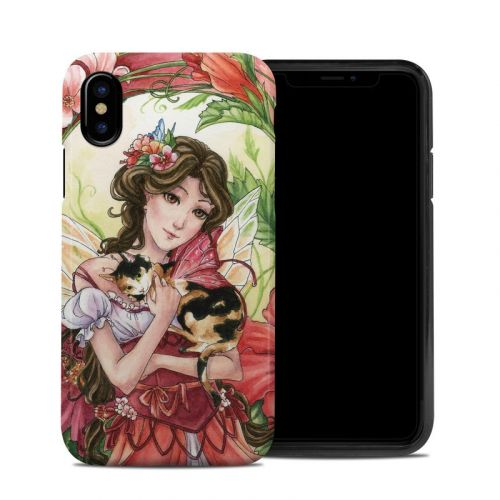 Hibiscus Fairy iPhone XS Hybrid Case