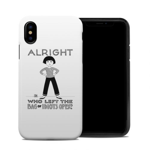 Bag of Idiots iPhone X Hybrid Case