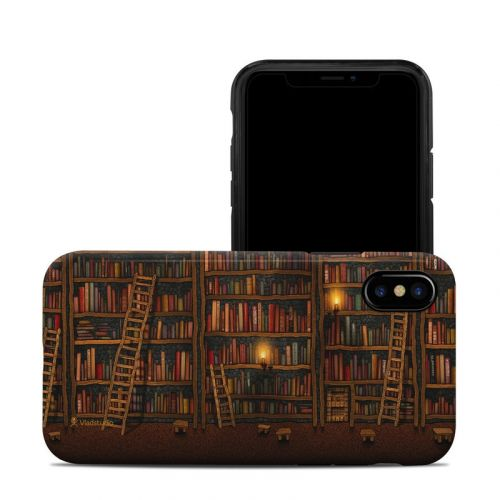 Library iPhone X Hybrid Case