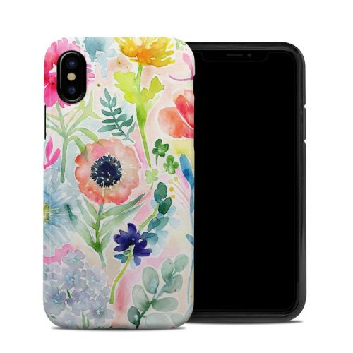 Loose Flowers iPhone X Hybrid Case