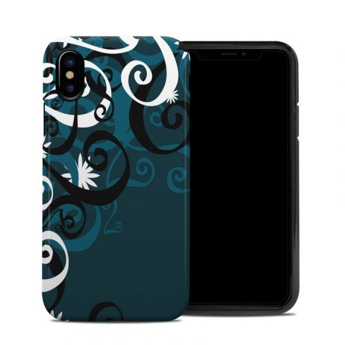 Midnight Garden iPhone X Hybrid Case