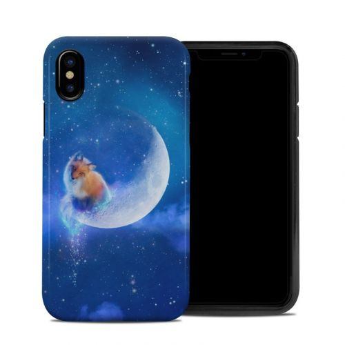 Moon Fox iPhone X Hybrid Case