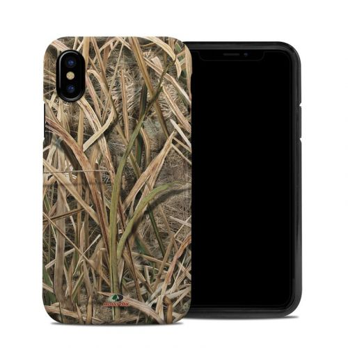 Shadow Grass Blades iPhone XS Hybrid Case