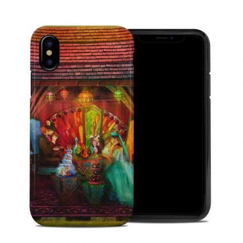 A Mad Tea Party iPhone XS Hybrid Case