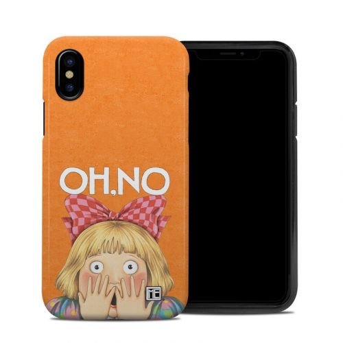 Oh No iPhone XS Hybrid Case