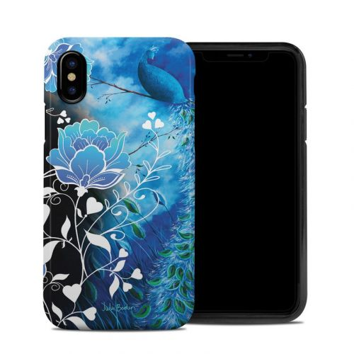 Peacock Sky iPhone X Hybrid Case