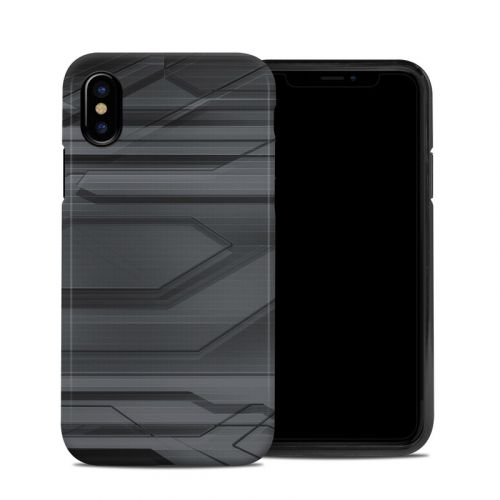 Plated iPhone XS Hybrid Case