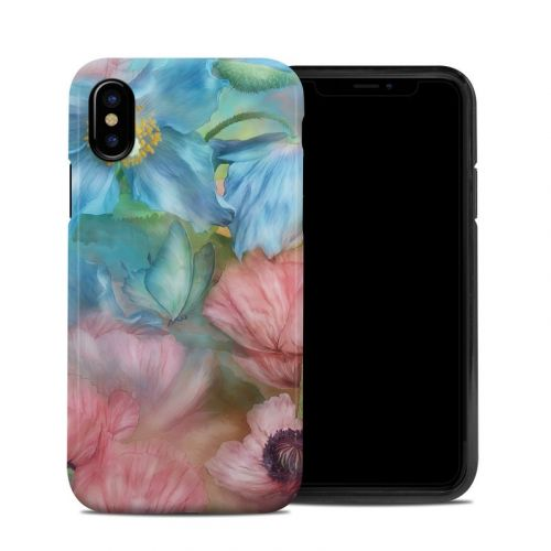 Poppy Garden iPhone X Hybrid Case