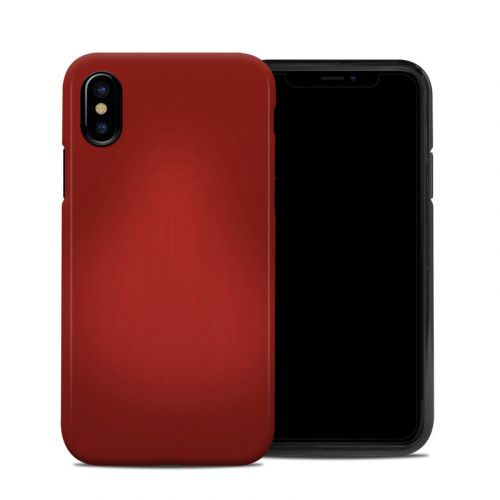 Red Burst iPhone X Hybrid Case