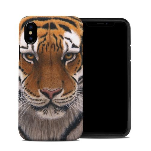 Siberian Tiger iPhone XS Hybrid Case