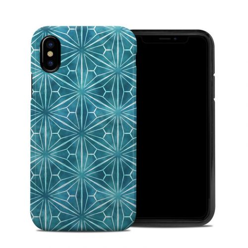 Starburst iPhone XS Hybrid Case