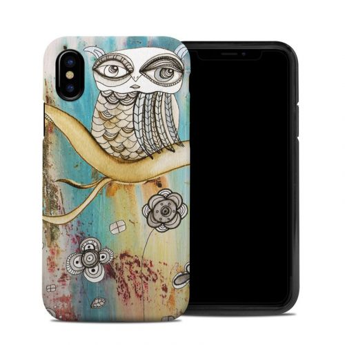 Surreal Owl iPhone X Hybrid Case