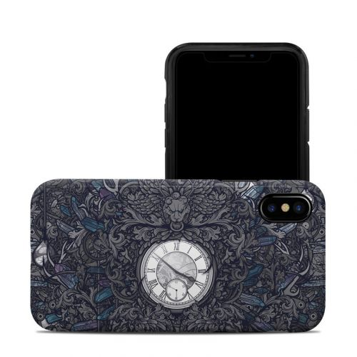 Time Travel iPhone X Hybrid Case