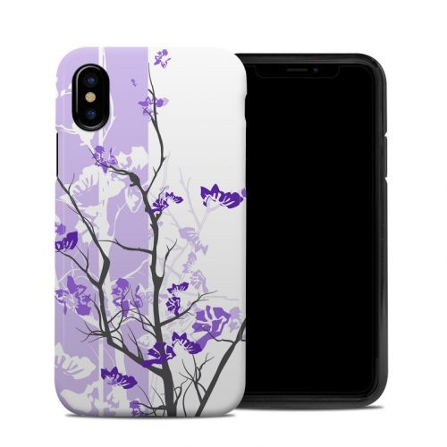 Violet Tranquility iPhone XS Hybrid Case
