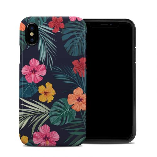 Tropical Hibiscus iPhone XS Hybrid Case