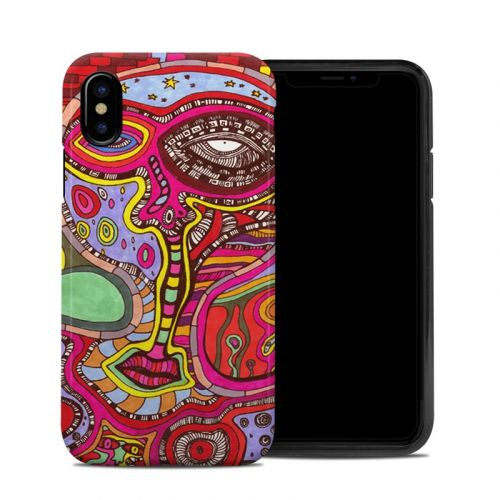 The Wall iPhone XS Hybrid Case