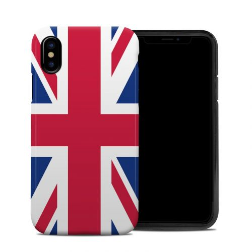 Union Jack iPhone X Hybrid Case