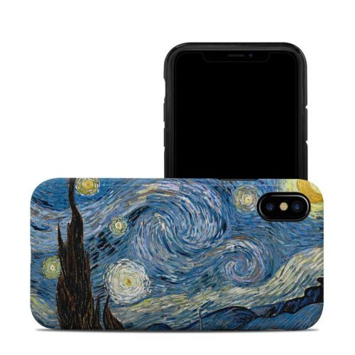 Starry Night iPhone XS Hybrid Case