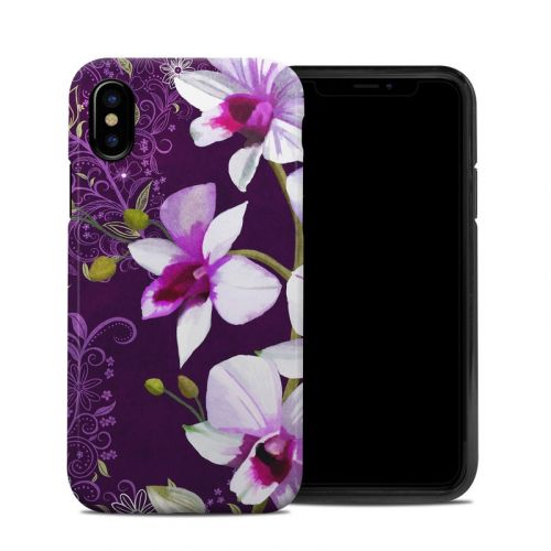 Violet Worlds iPhone XS Hybrid Case