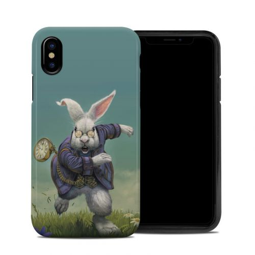 White Rabbit iPhone X Hybrid Case
