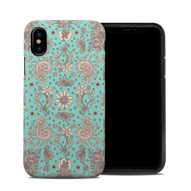 Birds Of A Flower iPhone X Hybrid Case